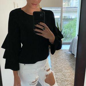 INC black blouse High Quality
